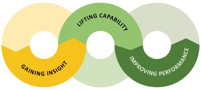 Lifting capability, improving performace and supporting innovation and learning